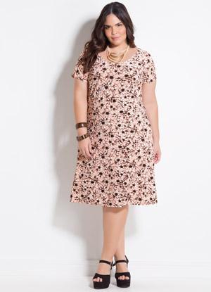 Look casual plus size vestido