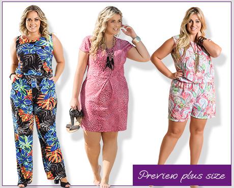 4291a38f0 Marguerite  Sua Loja Plus Size Online