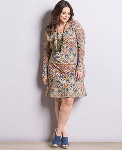 Vestido Boho Plus Size