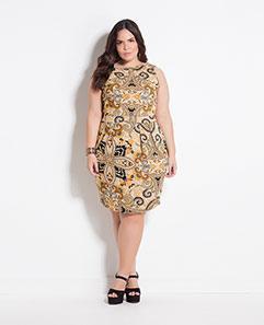 Vestido Cashmere Plus Size