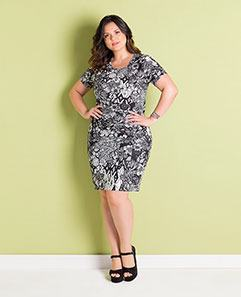 Vestido Tubinho Cashmere Plus Size