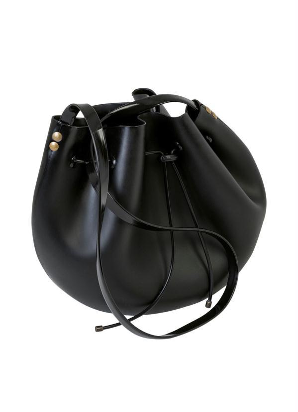 d1ce5ff44 Queima estoque - Bolsa Saco Preta Transversal - Queima de Estoque