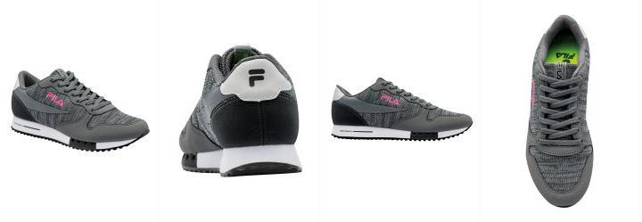 bddfde4ce7379 0.9711810946464539 Tênis Fila Euro Jogger Sport Chumbo e Rosa