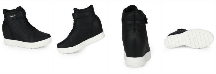 c1df2a5d50 1.7925770282745361 Tênis Sneaker Kolosh Preto