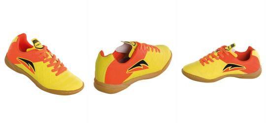 ada31cbada Queima Estoque. 0.0 Chuteira para Futsal Amarela e Laranja