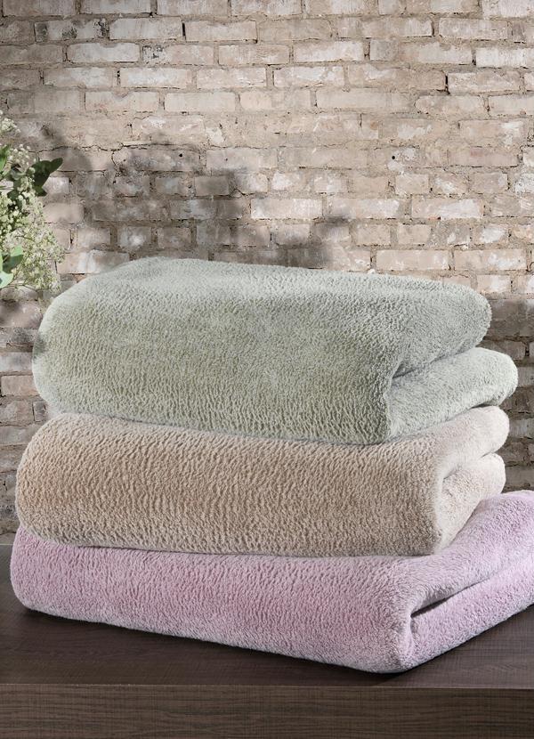 Cobertor casal verde lar lazer for Cama e mesa