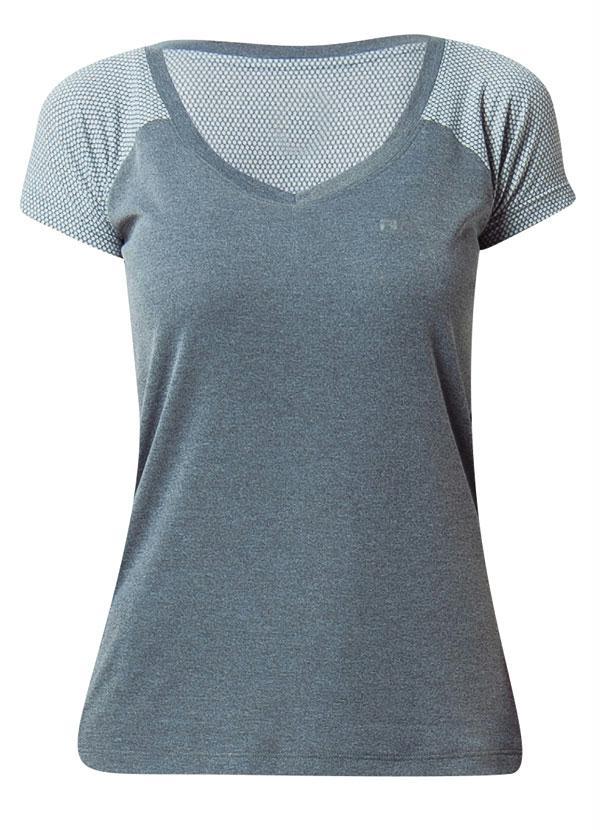 Camiseta Feminina Fila Match Ii Mescla - Rally 6416188898451