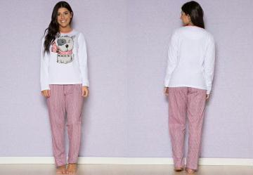 59c00e452 0.8327464461326599 Pijama Feminino Rosa Laibel