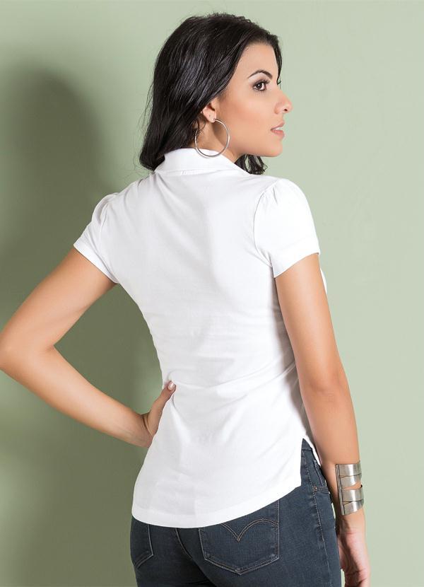 Multimarcas - Camisa Polo Branca Levis - Multimarcas 8432b9b047f