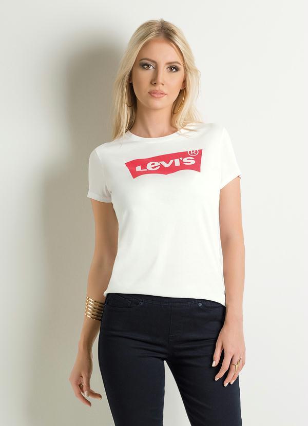 Multimarcas - T-Shirt Levis Estampa Frontal Branca - Multimarcas 4ab28dd21c7