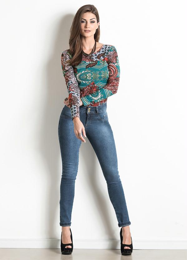 b705fdb95 Moda pop - Body Arabesco Decote Costas Aprofundado - Moda Pop