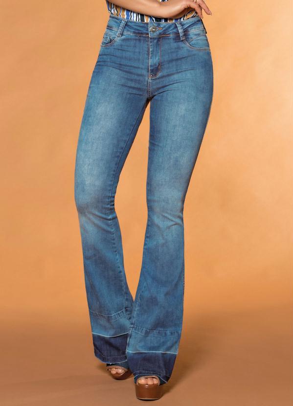 b42014305 Sawary jeans - Calça Flare Sawary Jeans - Sawary Jeans