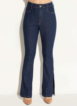 e609f942f produto Quintess - Calça Jeans com Fenda na Barra