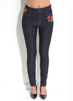 380c842c8 produto Quintess - Calça Quintess Jeans Skinny com Bordado
