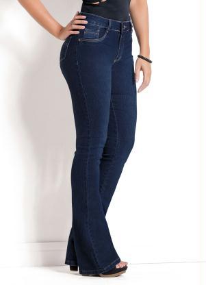 a1b1256e9 produto Sawary Jeans - Calça Jeans Sawary Azul Modelo Flare