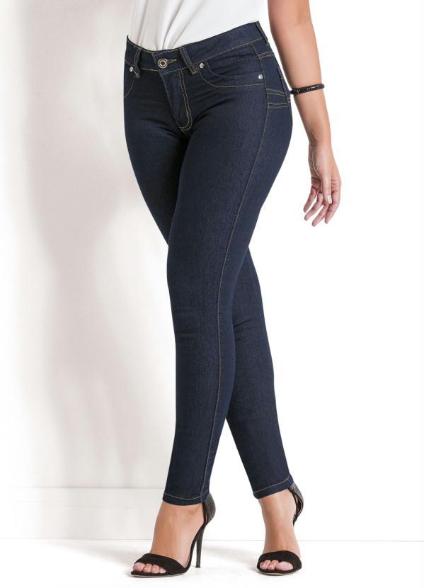 a5b47ce96 Sawary jeans - Calça Jeans Sawary Azul Escuro Levanta Bumbum - Sawary Jeans