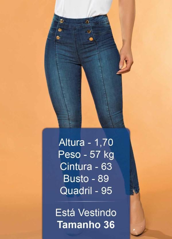8a25f62c23 Sawary jeans - Calça Hot Pants com Botões Sawary Jeans - Sawary Jeans