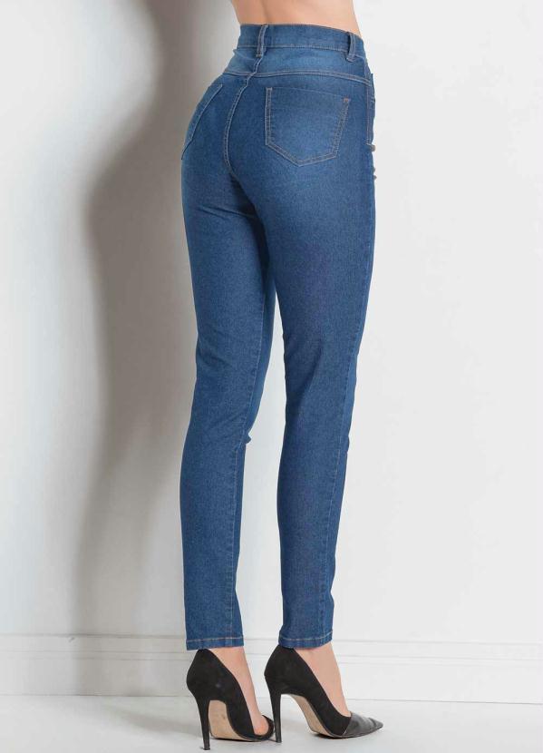 8189ad36e Sawary jeans - Calça Legging Sawary Jeans com Cinta Modeladora ...
