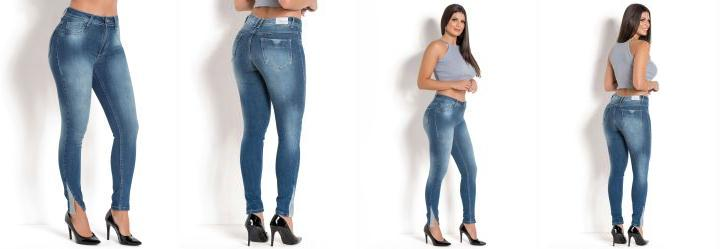 1b0793cb0c Sawary jeans - Calça Sawary Hot Pant com Strass Jeans - Sawary Jeans