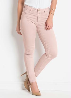 9eaaadab1 Calça em Sarja Sawary Modelo Hot Pants Rosê