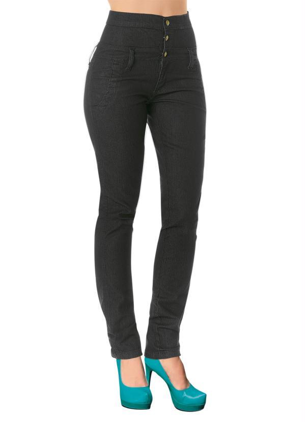 1a6897036 Janine - Calça Jeans Escuro Cintura Alta - Multimarcas