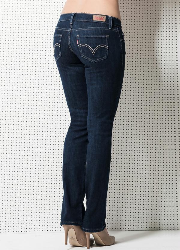 b8bff28856cb9 Multimarcas - Calça Levis 524 Simply Blue - Multimarcas