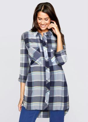 0075a7f62 Camisa Manga Longa - Moda Feminina