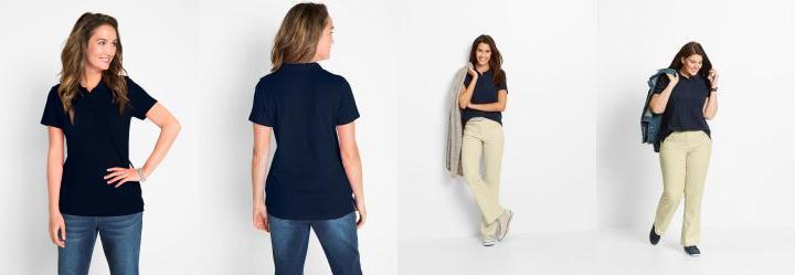 Camisa Polo Azul Escuro