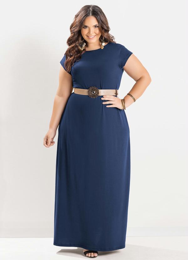 0808ea8e48 Marguerite - Vestido Longo Azul Marinho - Marguerite