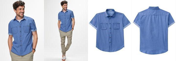 Camisa Jeans Malwee