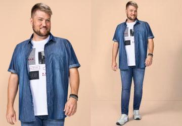 6c6855c621 0.0 Camisa Jeans Wee!