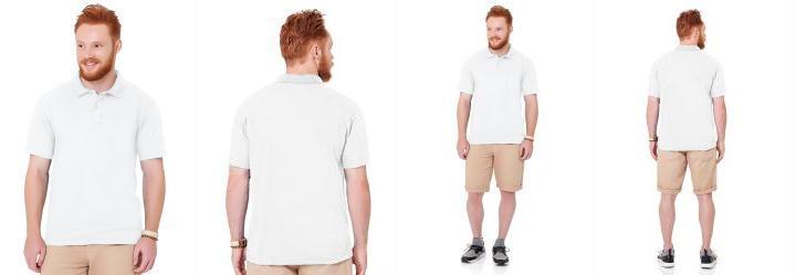 ca1a55e5ce 0.0 Camisa Polo Branco Fakini Fkn Menswear Every Day