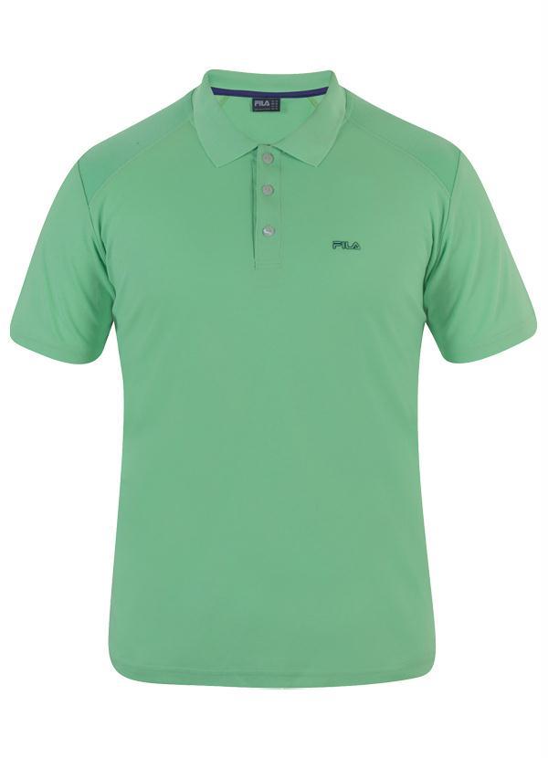 Fila - Camisa Polo Fila Masculina Verde
