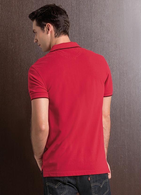 Multimarcas - Camisa Polo Levis Housemark Vermelha - Multimarcas d42bbd415c30a