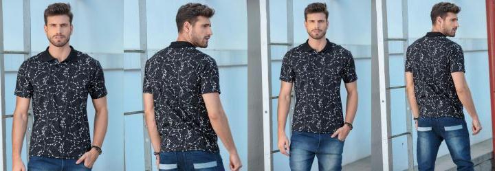 Liquidação Camiseta Masculina Posthaus - Posthaus 548bea849515d