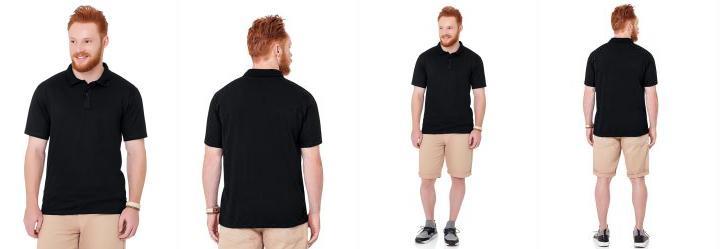 63210c19de 0.0 Camisa Polo Preto Fakini Fkn Menswear Every Day