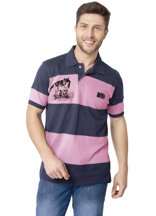Camisa Gola Polo Estampada Polo Animal Planet - null 5a232652dd57c