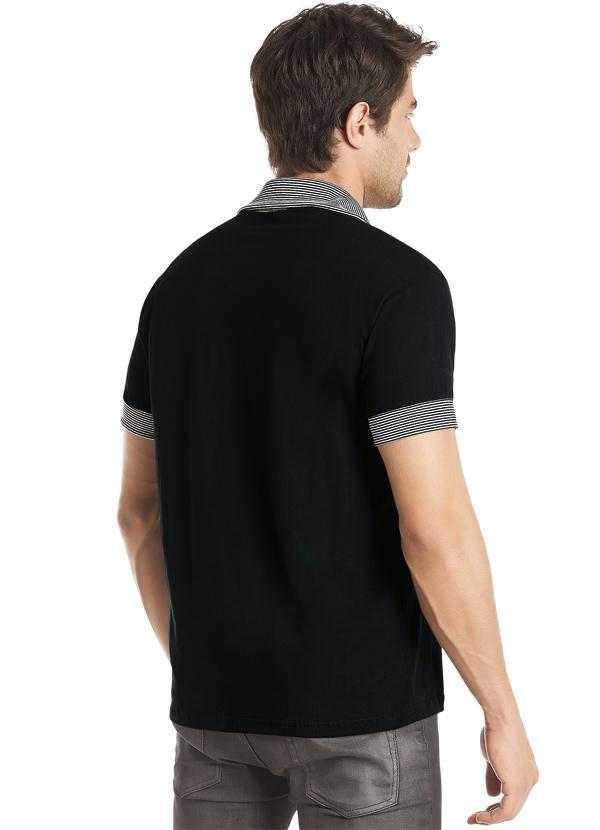effe740d26 Snap Camisa Preta Gola Polo Queima de Estoque photos on Pinterest