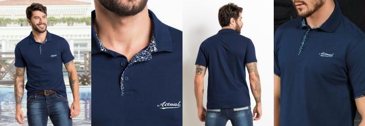 4932bfc5df Camisa Pólo Masculina - Compre Online