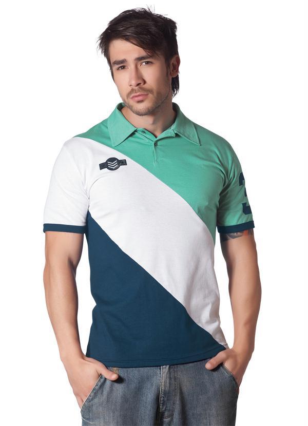 b49c25ff6db75 Camisa Polo Verde