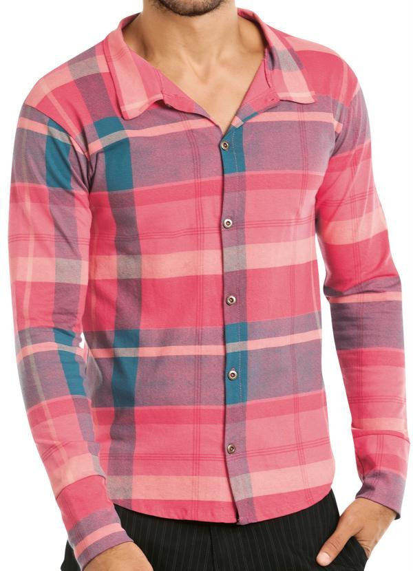 0ad0ffd22e Camisa Xadrez Manga Longa - Queima de Estoque