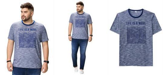 2cf522163 Camiseta Manga Curta Masculina - Compre Online