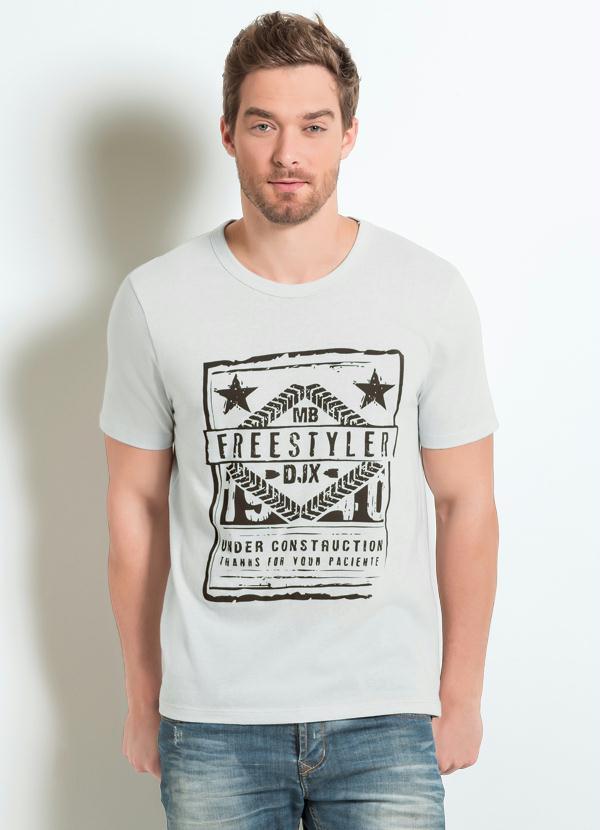 6f74782c6 Queima de Estoque - Camiseta Gelo com Estampa Frontal - Queima de ...