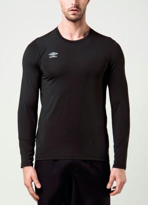 produto Camiseta Umbro Basic Uv Preta Rally fc39d33b6e35e