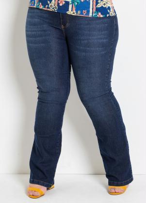 c4bed1f83 produto Marguerite - Calça Flare Jeans Plus Size Marguerite