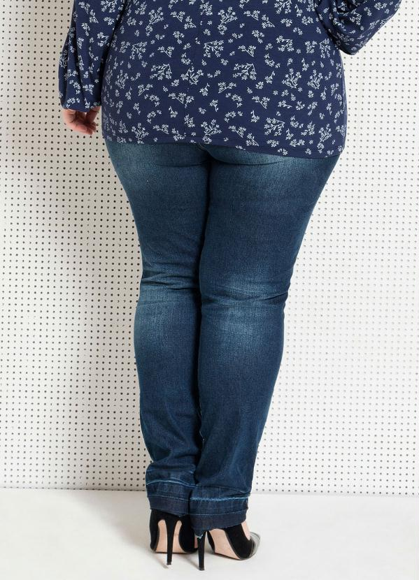 Quintess - Calça Jeans Skinny Plus Size Quintess - Quintess 43727ed9dd2