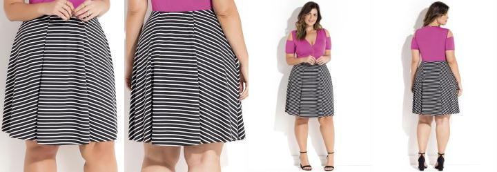 Saia Listrada Plus Size Quintess