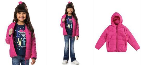 20084de1cb Casaco Infantil Menina - Compre Online
