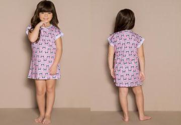 749657eb29 Moda meninas calcinha infantil estampada bebê doll rosa - Multiplace