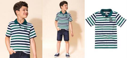 Camisa Infantil Masculina - Compre Online  0cabb801001ee